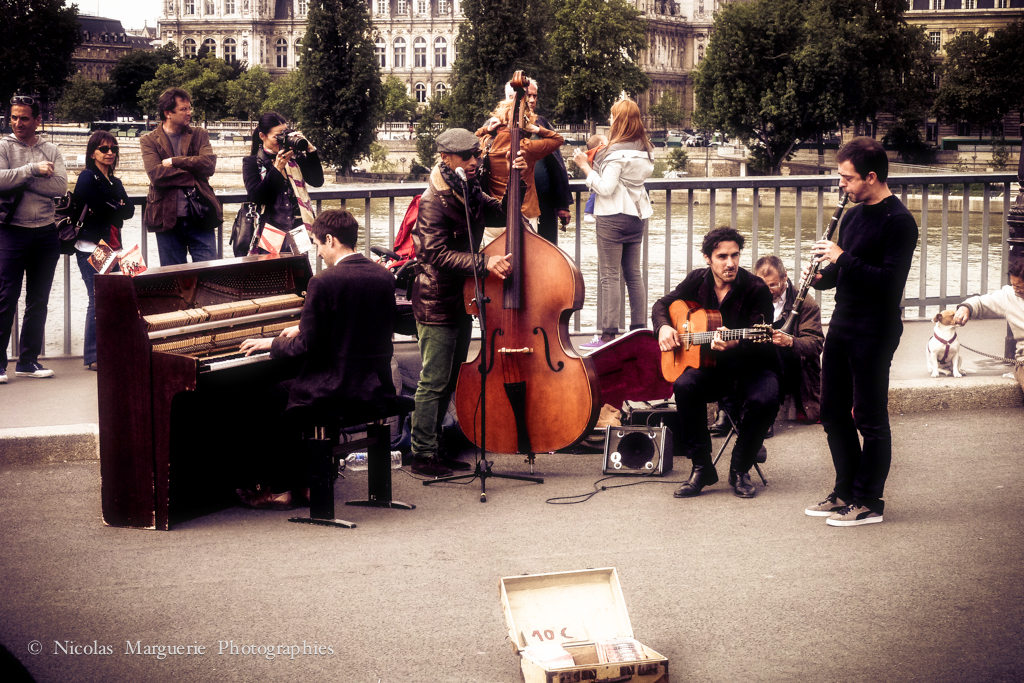 Jazz Band Au Pont Saint Louis