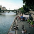 Paris Plage Sur Les Bords de Seine